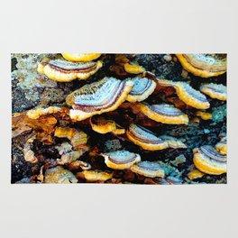Tree Fungi Pattern Rug