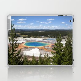 grand prismatic spring Laptop & iPad Skin
