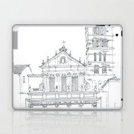 Basilica di Santa Cecilia in Trastevere Laptop & iPad Skin
