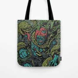Zombie vs Plant! Tote Bag