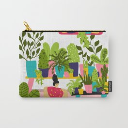 Love Plants Carry-All Pouch
