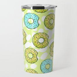 DONUTS AND DOTS DELICOUS DELIGHT Travel Mug