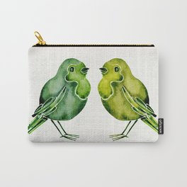 Parakeets Carry-All Pouch