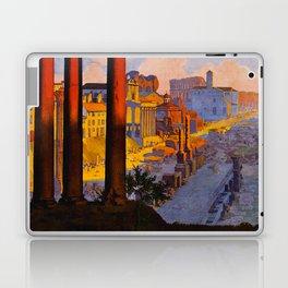 Vintage Rome Italy Travel Laptop & iPad Skin