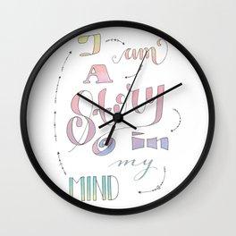 I am a Story Wall Clock