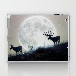 blue moon rising Laptop & iPad Skin