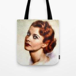 Vivien Leigh, Hollywood Legend Tote Bag