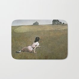 Christina's World - Andrew Wyeth Bath Mat