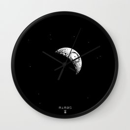 MIMAS - The Real Death Star Wall Clock