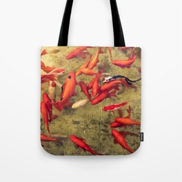 Fishy Frenzy Tote Bag