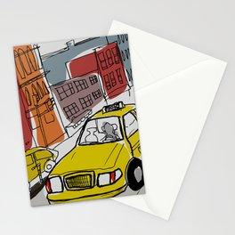 New York sketch /1 Stationery Cards