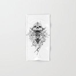 Wolf And Skull Hand & Bath Towel