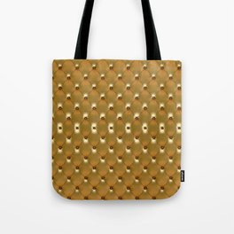 Luxury Golden Leather vector new design Tote Bag