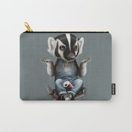 BADGER TAKES ALL Carry-All Pouch