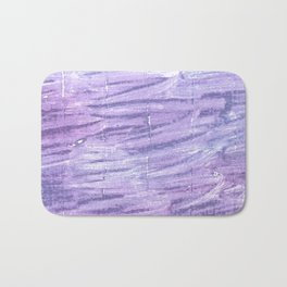 Soap abstract watercolor Bath Mat
