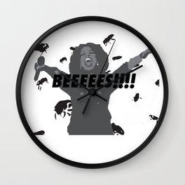 OPRAH: BEES! Wall Clock