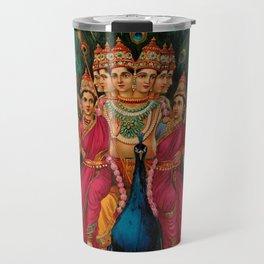 Hindu Art Travel Mug