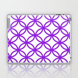 Interlocking Purple Laptop & iPad Skin