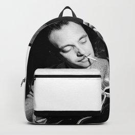 Django Reinhardt at the Aquarium Jazz Club Backpack