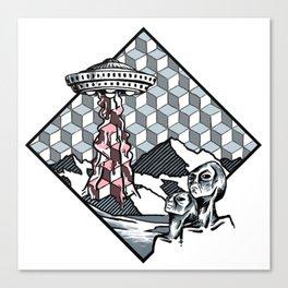 Neapolitan Takeover Canvas Print