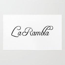 La Rambla Rug