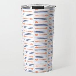Chopsticks Silhouettes Vector Cutlery Travel Mug