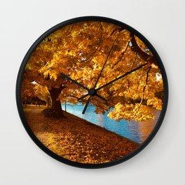 Perfect Autumn (Color) Wall Clock
