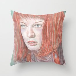 Leeloo - the Fifth Element Throw Pillow