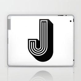 Letter J Laptop & iPad Skin