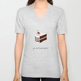 You Want A Piece of Me? Unisex V-Neck