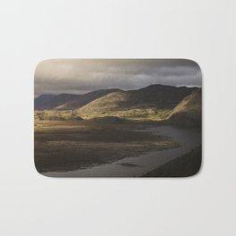 Clouds, Land, Water Bath Mat