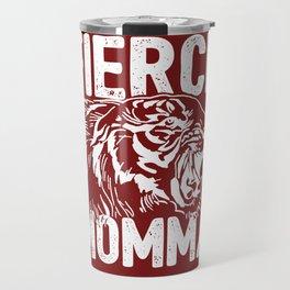 Fierce Momma / Red Travel Mug