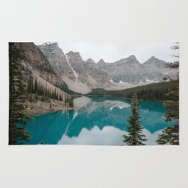 Moraine Lake, Banff National Park Rug