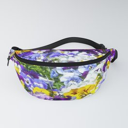 Pansies Fanny Pack