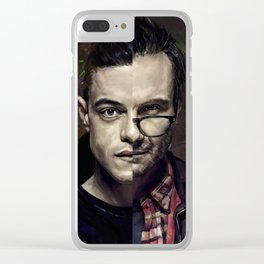 mr Alderson Clear iPhone Case