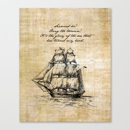 Treasure Island - Robert Louis Stevenson Canvas Print