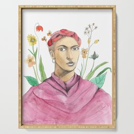 Frida Kahlo Serving Tray
