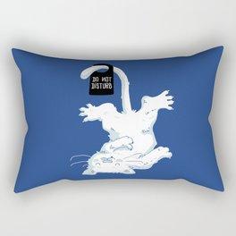 Do not disturb! Rectangular Pillow