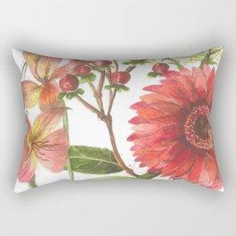 Bodega Flowers Rectangular Pillow