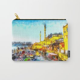 Istanbul Art Carry-All Pouch