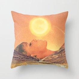 Kiss The Sky Throw Pillow