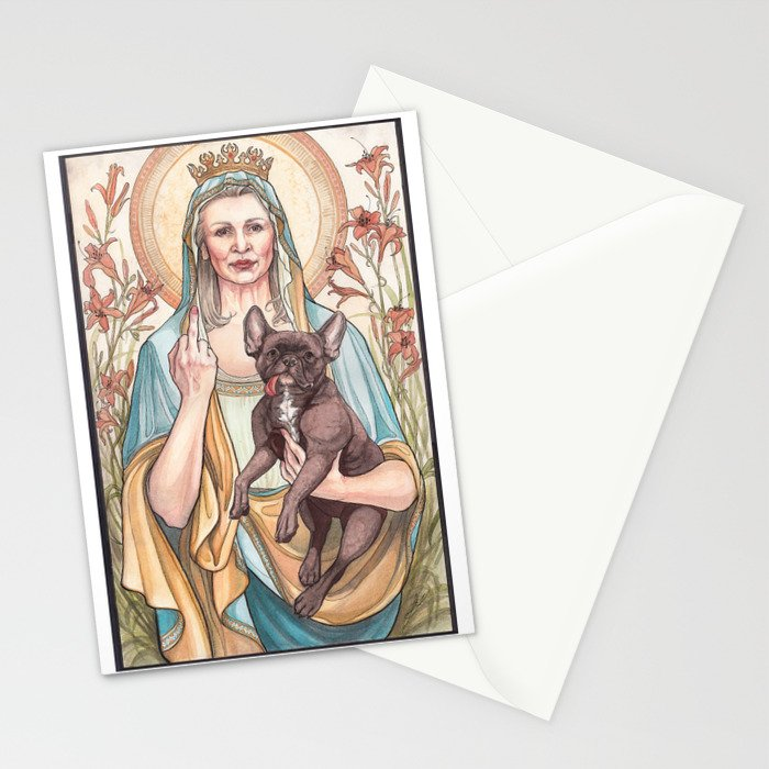 Our Blessed Rebel Queen Stationery Cards