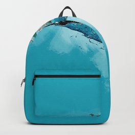 The beauty of a mothers love - Humpback Whales Backpack