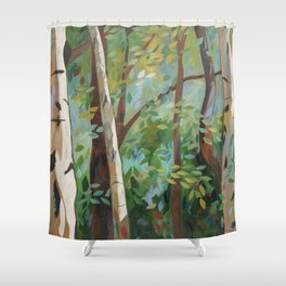 Discover Peace Shower Curtain
