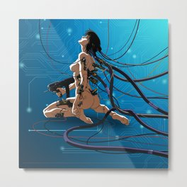 ghost in a shell Metal Print