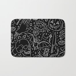 Halloween Horrors Bath Mat