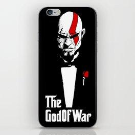 The God Of War iPhone Skin