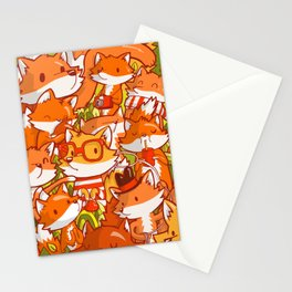 The Fox Family Stationery Cards