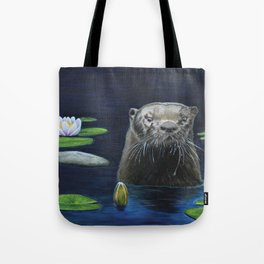 The River Otter by Teresa Thompson Tote Bag