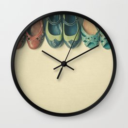 The Shoe Collection Wall Clock